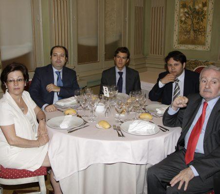 Pilar Zugaza, Alfredo Soriano,Juan Ignacio de Guzmán, Jesús Martínez Soto y Álvaro Espina
