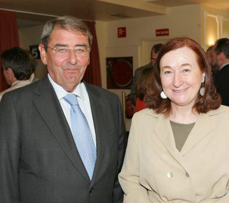 Alejandro Echevarría y Petra Mateos