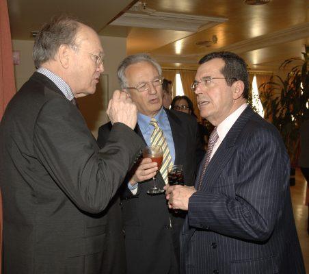 Javier Ramiro, Ángel Durández y Santiago Martínez- Lage