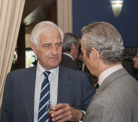 Alfonso Martínez de Irujo y Francisco de Bergia