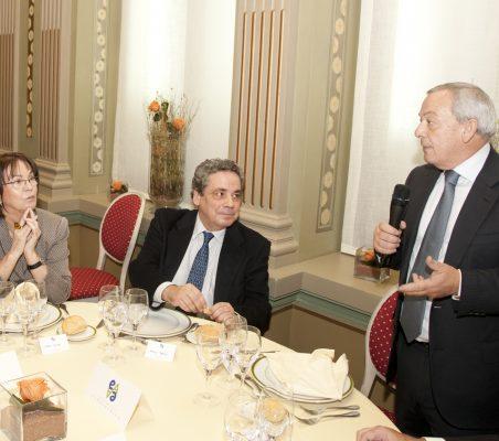 Carmen Conde, Ángel Torres y Carlos Solchaga