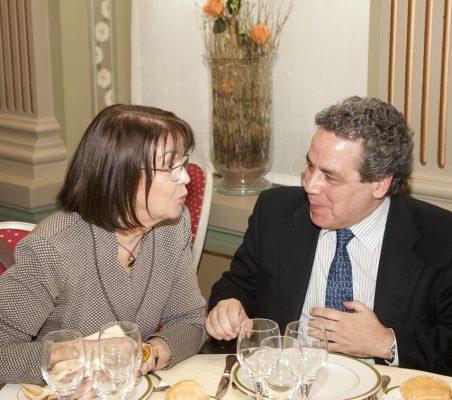 Rosa Conde y Ángel Torres
