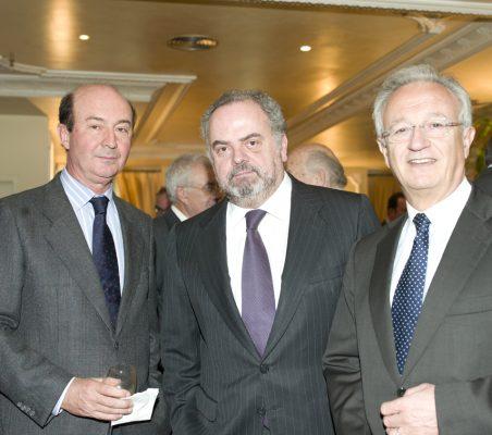 Miguel Iraburu, Ignacio Polanco y Ángel Durández