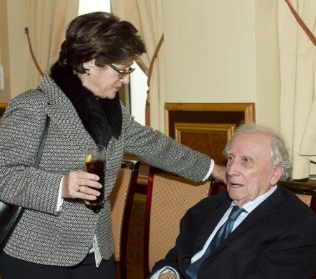 Pilar Zugaza y Francisco Pérez González