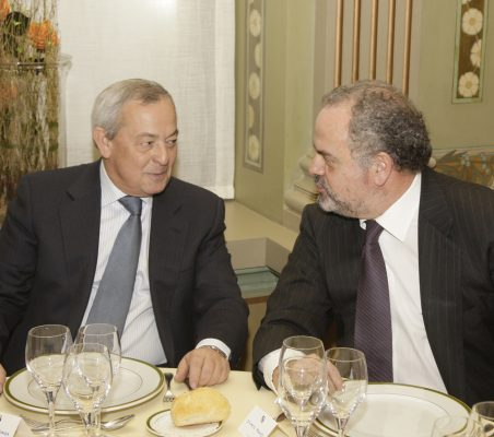 Carlos Solchaga y Ignacio Polanco