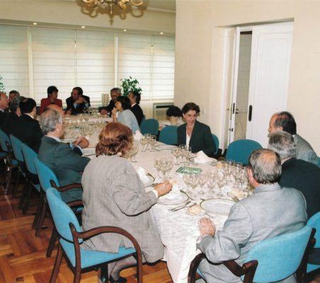 Mesa almuerzo Ana Birulés