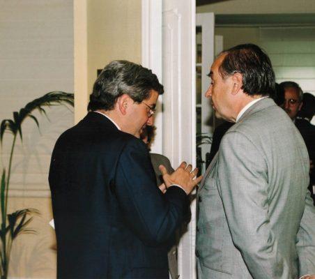 Gonzalo Babé y Miguel Vergara