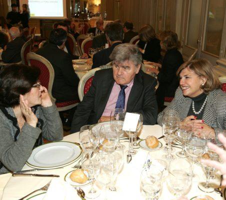 Pilar Zugaza, Walter Haubrich, Mª Jesús Escribano