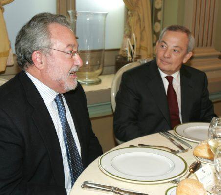 Bernard Soria  y Carlos Solchaga