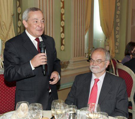 Carlos Solchaga y Javier Nadal