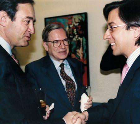 Claudio Boada y Pío Cabanillas