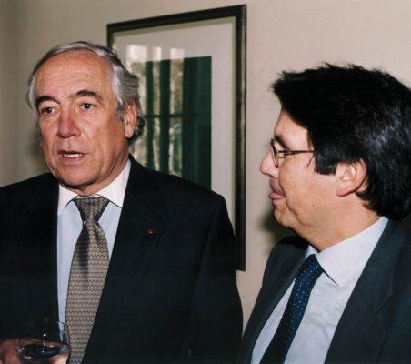 Carlos Espinosa de los Monteros y Miguel Gordillo