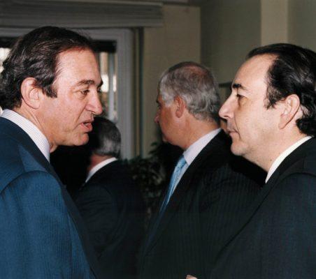 Claudio Boada y Carlos López Blanco