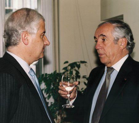 Alfonso Martínez de Irujo y Carlos Espinosa de los Monteros