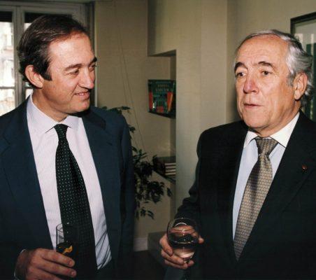 Claudio Boada y Carlos Espinosa de los Monteros