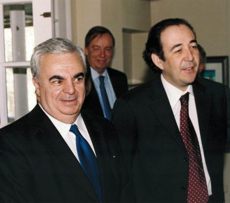 José Luis Ripoll y Carlos López Blanco