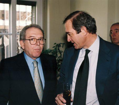 Eduardo Serra y Claudio Boada