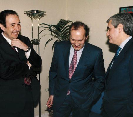 Carlos López Blanco, José Casas y Miguel Gil