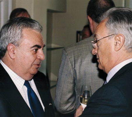 José Luis Ripoll y Ángel Durández