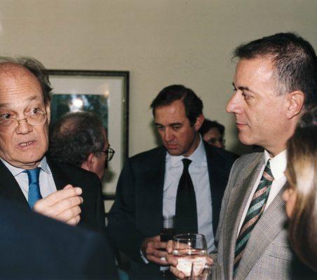 Javier Ramiro, Claudio Boada y Carlos Salas