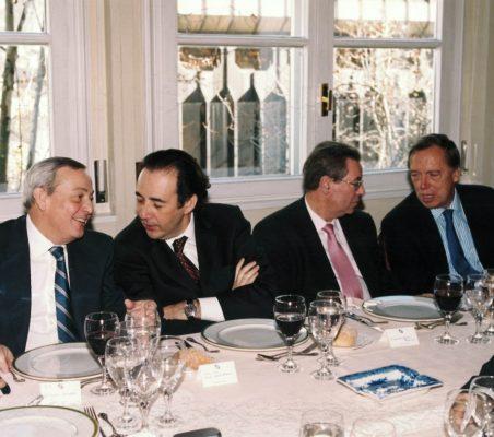 Carlos Solchaga, Carlos López Blanco, Jacinto García Palacios,y Carsten Moser