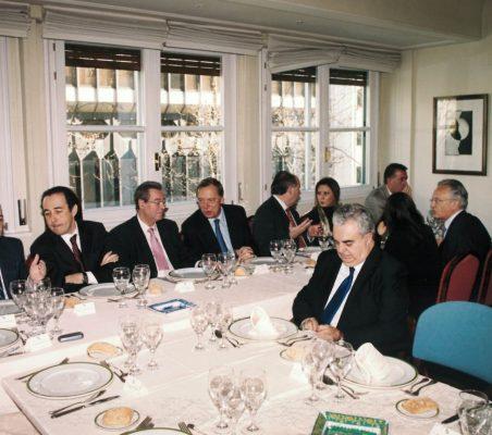 Invitados al Almuerzo Carlos López Blanco