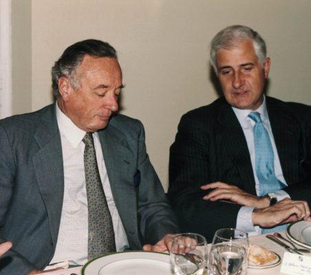 Carlos Fernández lerga y Alfonso Martínez de Irujo
