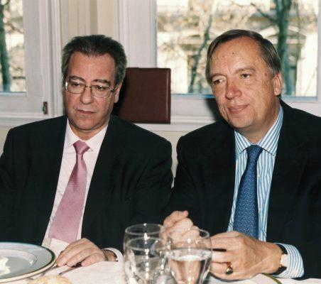 Jacinto López Sánchez y Carsten Moser
