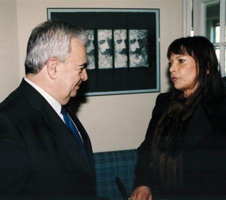 José Luis Ripoll y  Lucia Fiori