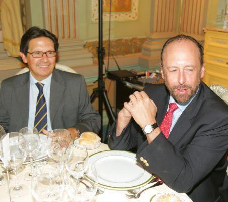 Miguel Gordillo y Luis Fraga