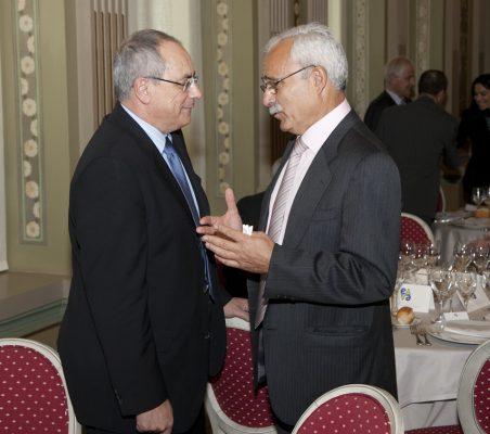 Domingo Ureña y José Eladio Seco