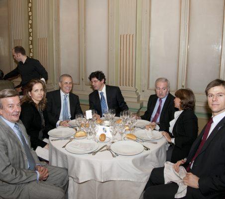Eusebio Serrano, Patricia Alfayate, Ramón Reyes, Martín Ortega Carcelén, Álvaro Espina, Luisa Peña, y Bernardo de Mendía