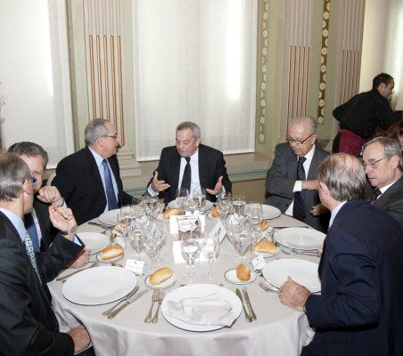 Almuerzo Domingo Ureña Mesa Presidencial