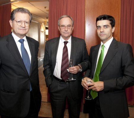 Juan I. Lema Devesa,  Enrique Martínez Robles y Eduardo Pérez Valverde