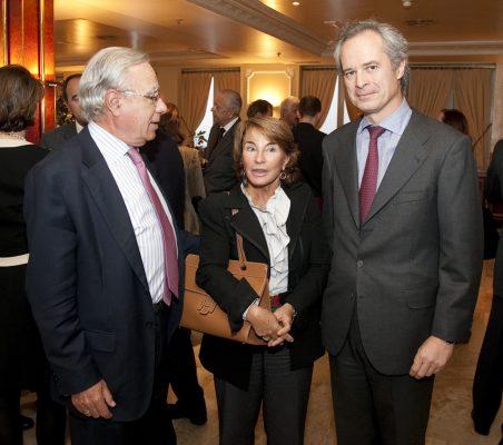 Ángel Bizcarrondo, Luisa Peña y José Manuel Vázquez