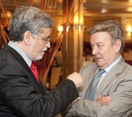 Miguel A. Pesquera y Usebio Serrano