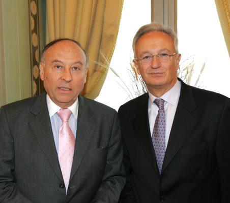 Enrique García  y Ángel Durández