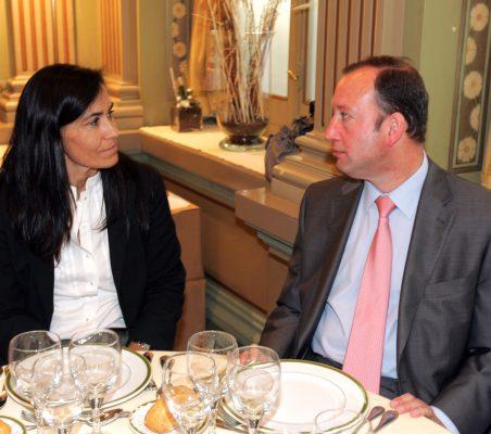 Cristina Amor y Félix Losada