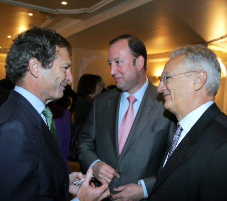 Borja Baselga, Félix Losada y Ángel Durández