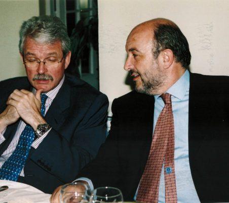 Amadeo Petitbó y Joaquín Almunia