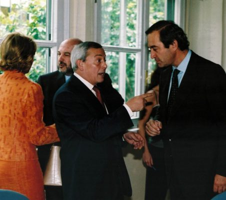 Carlos Solchaga y Claudio Boada