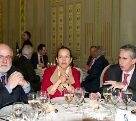 Carlos Esco, Francisca Méndez y Ramón Jáuregui