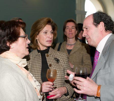 Pilar Zugaza, Gloria Barba y Antonio Sánchez Bustamante