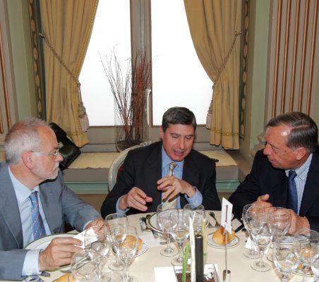 Javier Nadal, Ignacio García Delgado y Carsten Moser