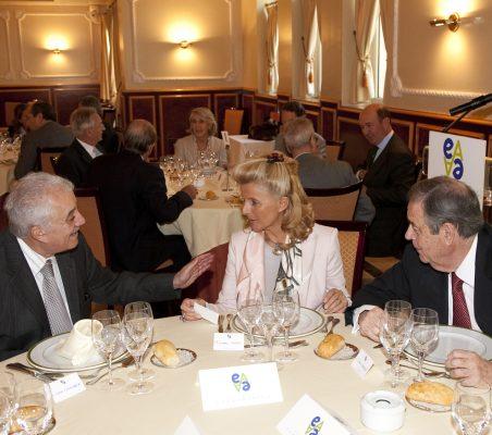 Galo Chiriboga, Isabel Tocino y Juan Badosa