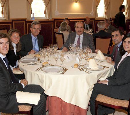 Juan Ignacio de Guzmán, Celia Roldán, Gonzalo Ortiz,Rafael Roldán, Carlos J. Moreiro y María Romy