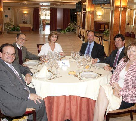 Carlos Álvarez, Emilio Cassinello, Gloria Barba, Luis Fraga, Martín Ortega Carcelén y Ellen Lenny-Pessagno