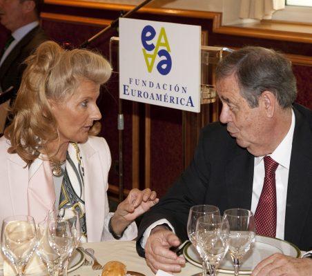 Isabel Tocino y Juan Badosa