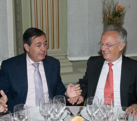 Juan Iranzao y Ángel Durández