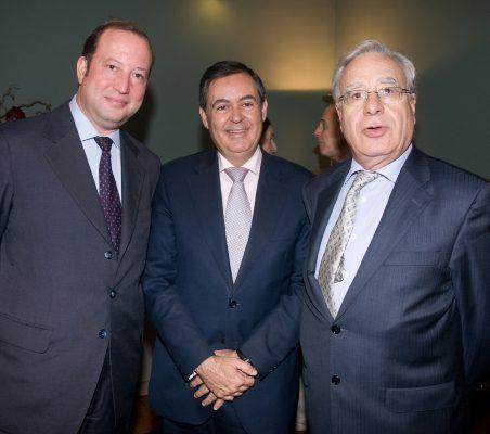 Félix Losada, Juan Iranzo y Ángel Bizcarrondo